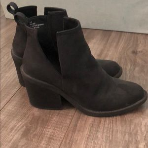 Super chic black 8.5 boots booties Rampage🎼